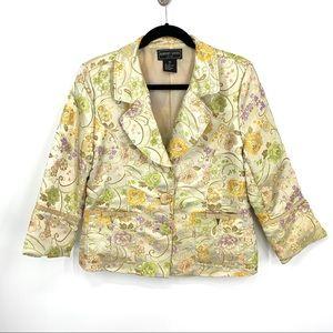Robert Louis silk blend oriental blazer